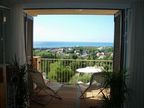 Spanish property for rent in: Sitges in and around the center. Beautiful apartment with great views